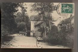 LIMETZ-VILLEZ - Le Moulin - 1913 - Autres Communes