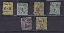 NOSSI BE  TIMBRES ANCIENS  COTE: 465 EUROS
