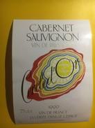 3076 -  Cabernet Sauvignon Cercle D'Or 1990 - Vin De Pays D'Oc