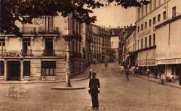 88 EPINAL Rue De La Gare, Agent De Police, Boutique Magasins Reunis - Epinal
