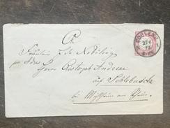 A9 Deutsches Reich Germany Allemagne Ganzsache Stationery Entier Postal Mi. U 3IIA Coblenz Koblenz Nach Mülheim - Entiers Postaux