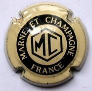 Bottle Cap, Capsule,CHAMPAGNE - MARNE ET CHAMPAGNE - Marne Et Champagne