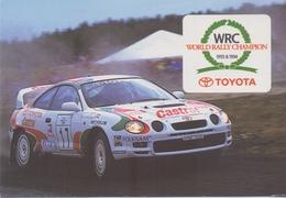 BELGIË/BELGIQUE : 1995: Kalender / Calendrier De Poche @§@ TOYOTA – World Rally Champion @§@ : AUTO,CAR, - Petit Format : 1991-00