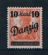 Danzig Michel Nr. 46 II Postfrisch Mit Falz - Danzig