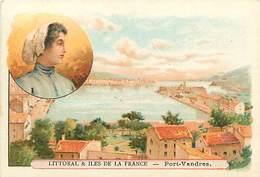 PIE-16-P - 3786 : LITTORAL ET ILES DE FRANCE.   PORT-VENDRES - Trade Cards