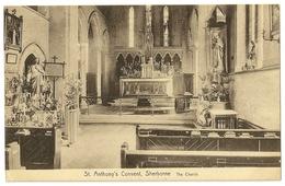 Uk201 - Sherborne - St. Anthony's Convent - The Church - Inglaterra
