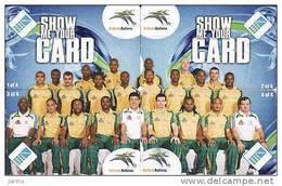 Afrique Du Sud, World Cup 2010-puzzle, South Africa Team, Chip - Afrique Du Sud