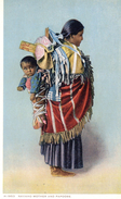612Bc  Indiens Navaho Mother And Papoose - Native Americans