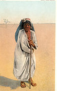 612Bc  Indiens Mojave Woman On The Desert Near Needles California - Native Americans
