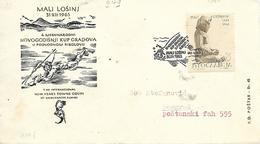 JUGOSLAVIA  MALI LOSINU  4 Th International New Yeat Town ' Coupe Of Underwater Fishing  21/12/63