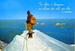 St.agostino - Tu Abiti O Signore Nei Silenzi Dei Cieli Più Alti - Formato Grande Non Viaggiata - E - Unclassified