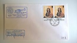 BRITISH ANTARCTIC TERRITORY - 1989 FIRMATA - Storia Postale