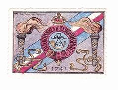 Vignette Militaire Delandre - Angleterre - Oxfordshire & Buckinghamshire - Erinnofilia