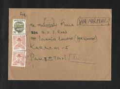 Korea 1983 Air Mail Postal Used Cover Korea To Pakistan - Korea (...-1945)