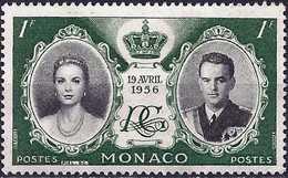 Monaco 1956 - Wedding Of Rainier III And Grace Kelly ( Mi 561 - YT 473 ) MNG - Nuovi