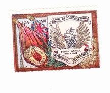 Vignette Militaire Delandre - Angleterre - Ayrshire Regiment - Erinnofilia