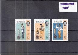 Police - Brunei - Yv.164/66 - Série Complète - XX/MNH - Police - Gendarmerie