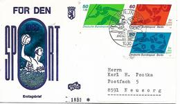 DEUTSCHLAND  BERLIN  Für Den Sport  Water Polo  Lancer Du Javelot  Haltèrophilie  8/10/80