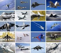 20 Postcards Of  Serve Plane Airplane, Postkarte Carte Posta - Avions