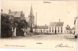 1 PC   Zandhoven Santhoven De Blijk  Uitg Hoelen N°422 Anno  1902 - Zandhoven