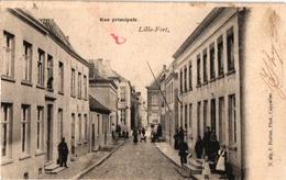 1 PC   Lillo Fort  Hoofdstraat Rue Principale Uitg Hoelen N°267  Anno 1903 - Autres
