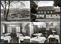 9350 - Alte MBK Ansichtskarte - Elterlein Erzg. - Gasthaus Gaststätte Jägersruh - Hoffamnn - DDR 1980 - Elterlein
