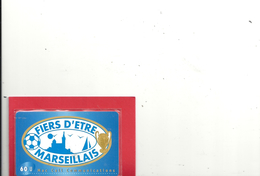 "CARTE PREPAYEE "" FIERS D'ETRE MARSEILLAIS "" 60U . MAC CALL COMMUNICATION . 2 SCANES - France"