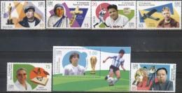 Cuba 2015 ** XI Campeonato Nacional De Filatelia. Personalidades Mundiales. See Desc. - Cuba