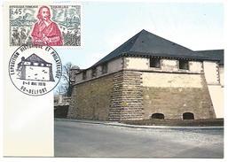 OBLITERATION COMMEMORATIVE EXPO HISTORIQUE ET PHILATELIQUE BELFORT 1976 - Storia Postale