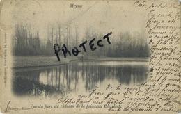 Meise -  Meysse :  Vue Du Parc Du Chateau  ( Gescheven 1902 Met Zegel ) - Meise