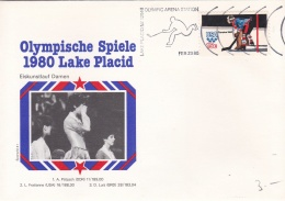 USA Cover Olympic Winter Games Lake Placid 1980 Olympic Arena Station (T5-18)