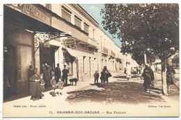 CPA Hammam Bou Hadjar Rue Centrale - Oran