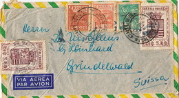 Deux (2) Lettres Du Brésil Pour La Suisse. 1959. Par Avion - Brésil