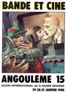 Cpsm (16) Angouleme 15 Salon Inter..... De La B. D.  (29.30.31. Janvier.  1988) - Bourses & Salons De Collections