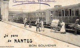 "44 NANTES ( Loire-Atlantique )  J' Arrive à NANTES - AMITIES        "" état "" - Nantes"