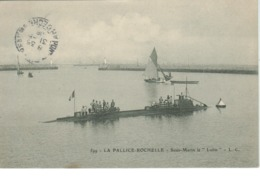 "La Rochelle - La Pallice - Sous Marin ""le Lutin"" - La Rochelle"
