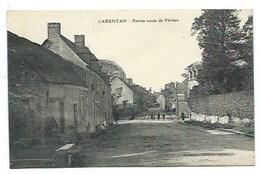 50 - CARENTAN - Entrée Route De Périers - CPA - Carentan