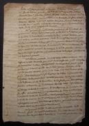 Grenoble (loirieux) 1777 Joli Document Concernant Le Curé De Loirieux Jacques Guinard Et La Famille Sallicou - Manuscrits
