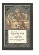 N 114. DANIEL A. VAN KASTEREN  - Eere-Ieveraar Aartsbroederschap O.L.V. H.Hart - °GINNIKEN (BREDA) 1850 /+TURNHOUT 1903 - Devotion Images