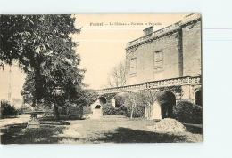 FUMEL : Le Château Parterre Et Pérystile. 2  Scans. Edition ? - Fumel