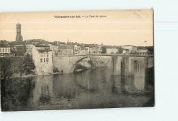 VILLENEUVE SUR LOT : Le Pont De Pierre. 2  Scans. Edition Maury - Villeneuve Sur Lot
