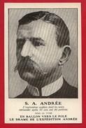 """CPA: Explorateur Polaire - S.A. Andrée - """"En Ballon Vers Le Pole"""" """"Le Drame De L'expédition Andrée"""" Svalbard Spitzberg - Célébrités"""