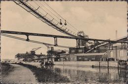 Charleroi La Sambre Pres Du Ferrociment CPA Oude Postkaart Imprimerie Seghin Usine Fabriek - Charleroi