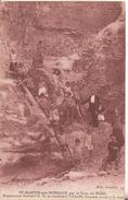 76  Saint Martin Aux Buneaux  Par Le Trou Du Diable Pensionnat  Gerbert  Se Rendant A L'echelle Donnant Acces A La Mer - France