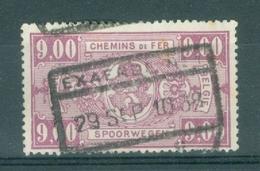 """BELGIE - OBP Nr TR 161 - Cachet  """"EXAERDE Nr 1"""" - (ref. AD-9258) - Ferrocarril"""