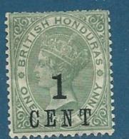 Honduras Britannique     - Yvert N° 32 *     Cw 19227 - British Honduras (...-1970)