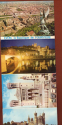 10 Vues Lyon Basilique De Fourviere 13 X 8 Cm - Photographie