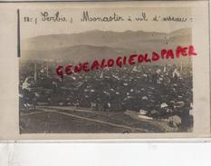 SERBIE - MONASTIR A VOL D' OISEAU  RARE CARTE PHOTO - Serbie
