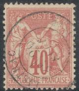 France Yvert 70 TB Sans Défaut Cote EUR 35 (numéro Du Lot 70I) - 1876-1878 Sage (Type I)