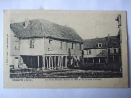 AL6 - 10  -  CHAOURCE   -  LE VIEUX MARCHE DEMOLI EN 1883 ET LA GALERIE D'ALLOURS - Chaource